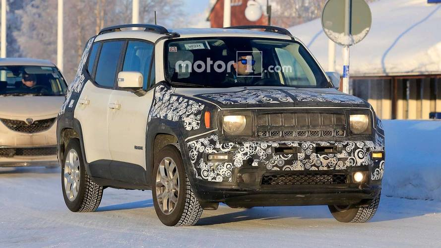 Jeep Renegade Continues Camo Striptease In New Spy Shots