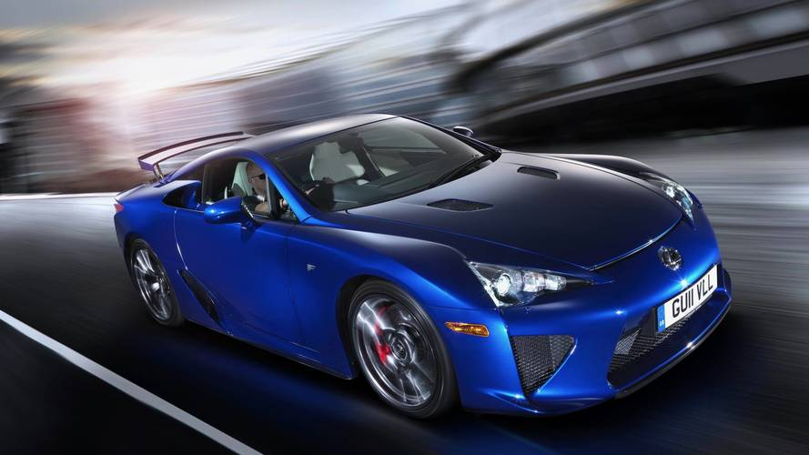 Future Lexus F Models Could Be Hybrids, Possibly For New GT Model