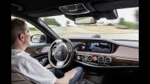 Una Mercedes Classe S a guida autonoma sulle tracce di Bertha Benz