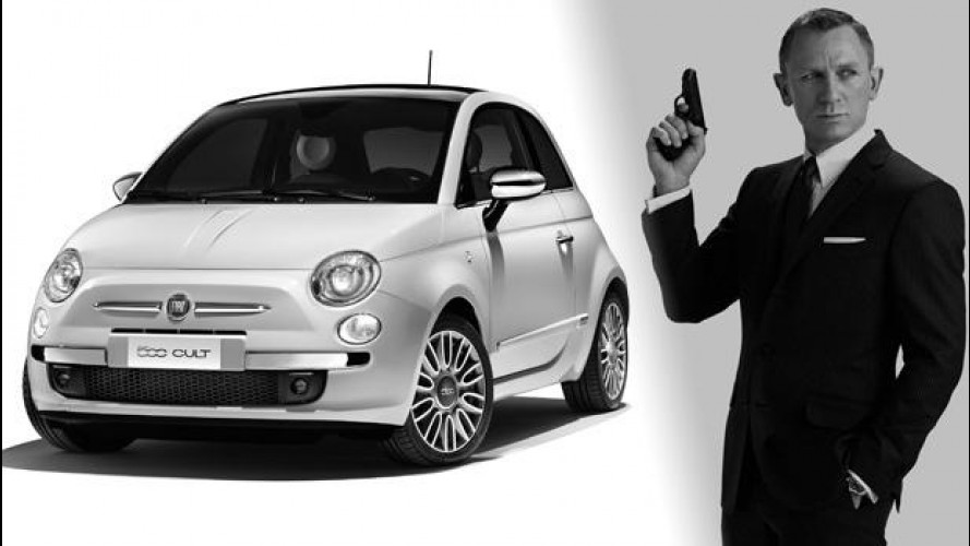 Fiat 500 è la nuova auto di 007, James Bond