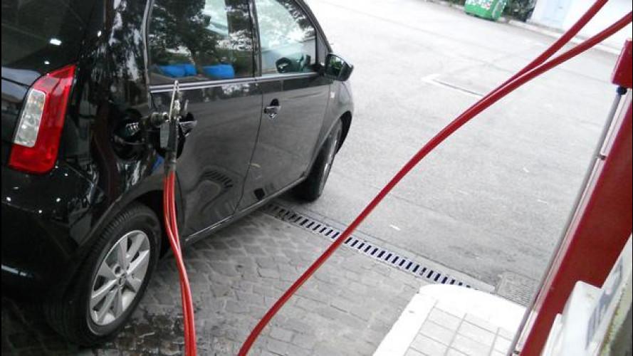 Self service per auto a metano e GPL? Esiste, ma non si vede