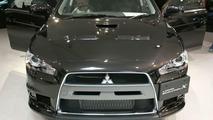 Mitsubishi Lancer Evolution X live in Tokyo