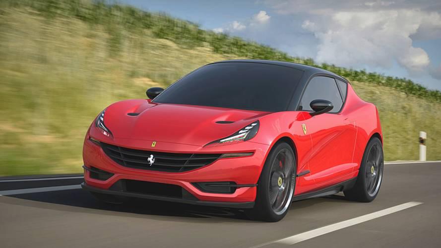 Curiosidade: como seria um hatchback produzido pela Ferrari?