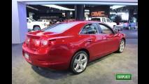 Chevrolet Malibu 2013 é lançado no México - Preço inicial é equivalente a R$ 49.747