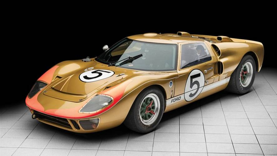 El Ford GT40 que acabó tercero en Le Mans, a subasta