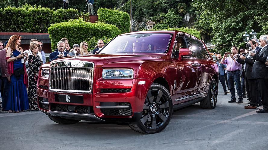 Rolls Royce Cullinan, a Villa D'Este la prima passerella