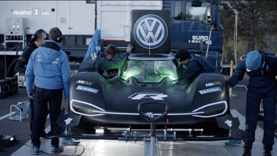 See How VW Got The I.D. R Pikes Peak Up The Mountain In Record Time