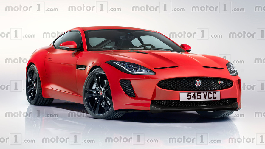 Render Jaguar XK 2021