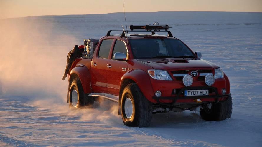 Conceitos esquecidos: Toyota Hilux Invincible AT38 desbravou o Polo Norte