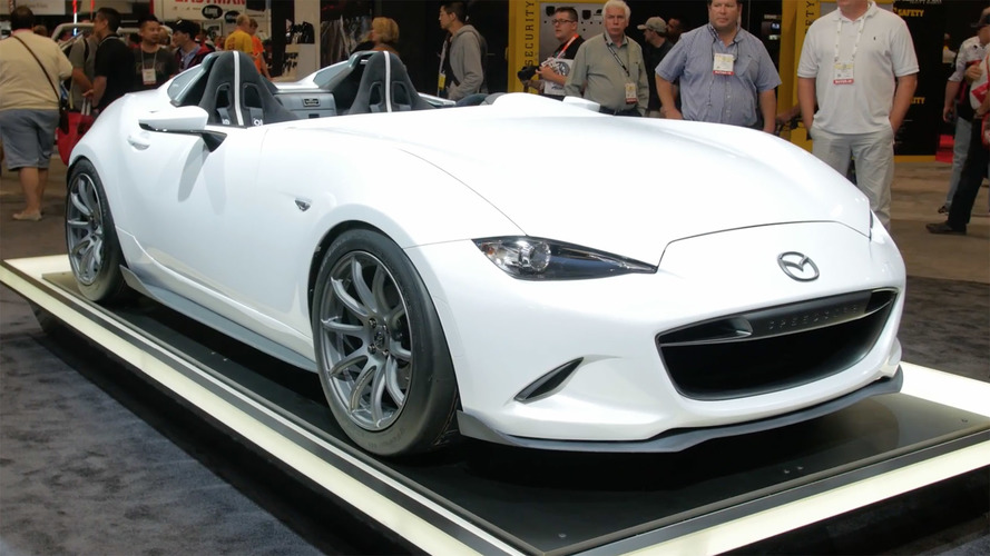 Video: Mazda Miata concepts at the 2016 SEMA Show