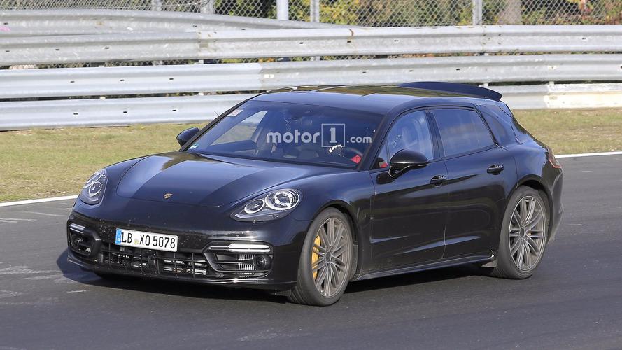 2018 Porsche Panamera Sport Turismo casus fotoğrafları