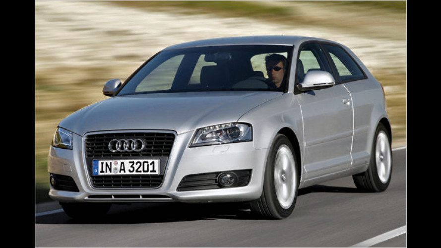Audi erhöht Anfang März 2009 die Preise um 1,4 Prozent