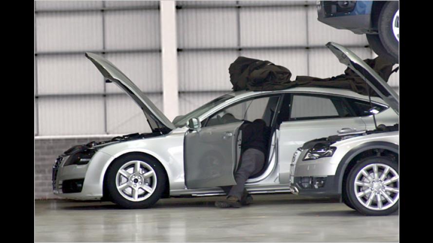 Audi A7 erstmals ungetarnt erwischt