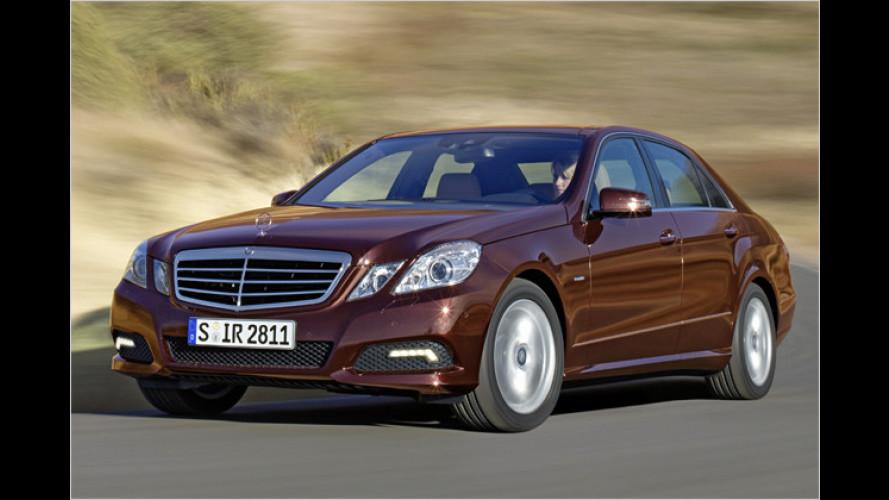 Neue Basis-Vierzylinder für die Mercedes E-Klasse