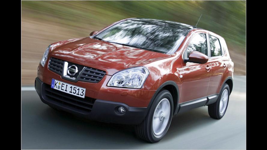 Nissan senkt Einstiegspreis: Qashqai wird günstiger