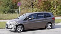 2018 BMW 2 Series Gran Tourer facelift spy photo