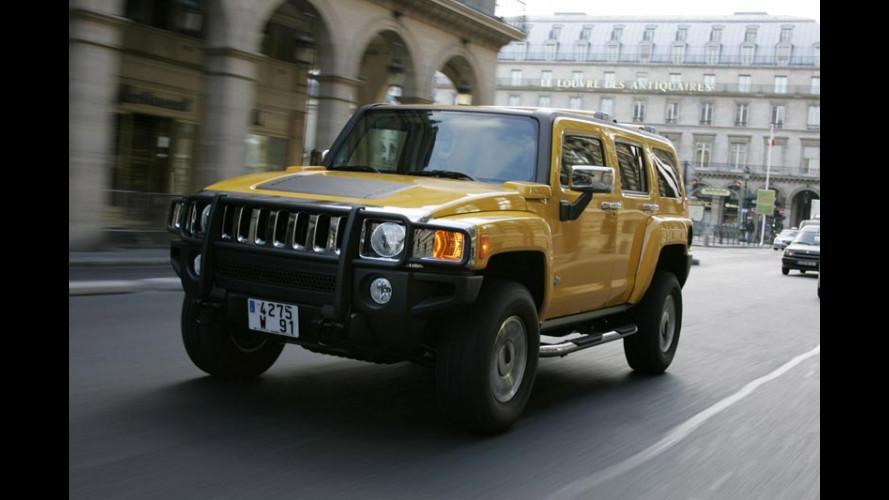 Maxi diesel per la baby Hummer