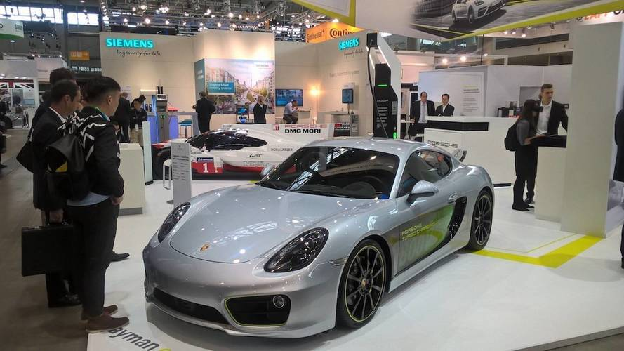Porsche Cayman e-volution Concept Hits 62 MPH In 3.3 Seconds