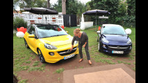 Opel Adam insieme a Sonja Vandenberk, Designer del brand