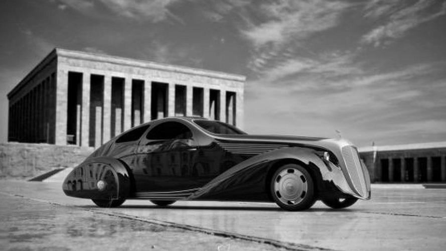 Rolls Royce Jonckheere Aerodynamic Coupe II by Ugur Sahin [video]
