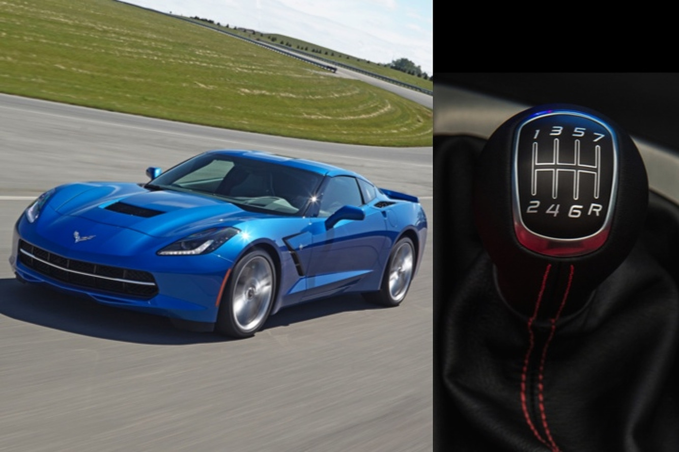 40% of Corvette Stingray Buyers Choosing Manual Gearbox