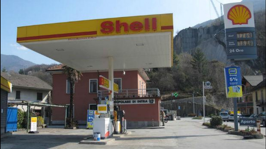 Shell lascia le strade italiane
