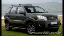 Ford Ecosport 2010: Utilitário ganhará nova grade dianteira e nome no capô