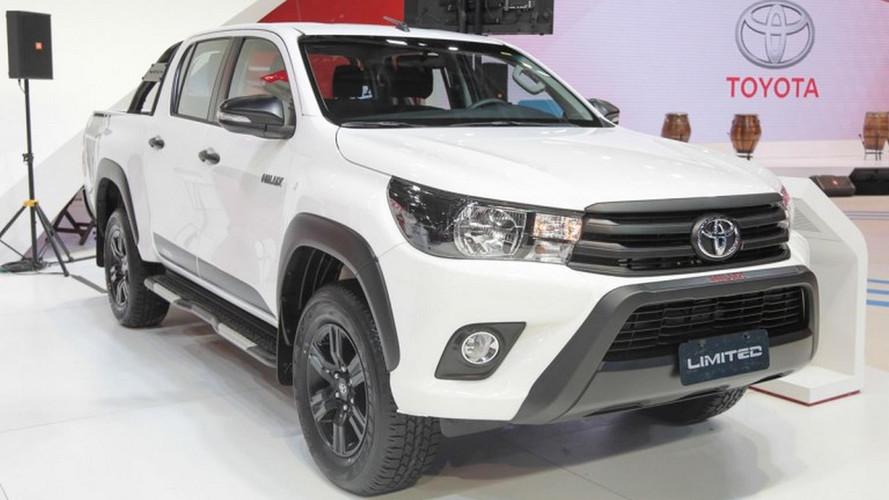 Toyota Hilux 2018 estreia na Argentina com novas versões e série Limited