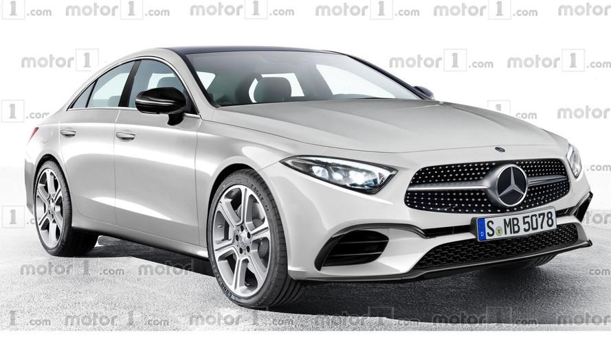 2018 Mercedes CLS'e evrimsel tasarım yorumu