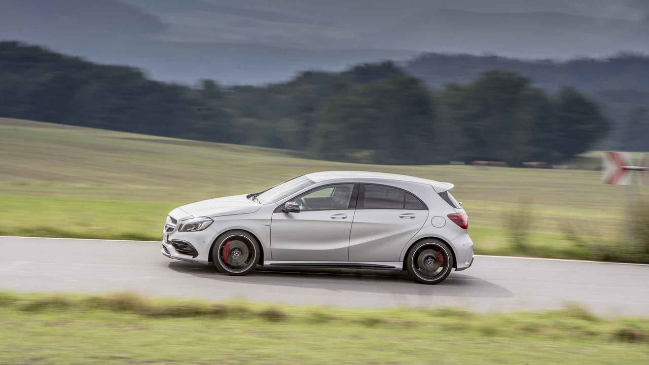 2017 mercedes amg a 45 review. Black Bedroom Furniture Sets. Home Design Ideas