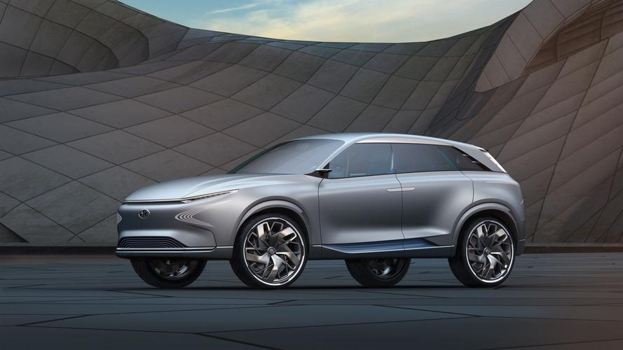 Genève 2017 - Le futur est en marche avec le Hyundai Futuristic FE Fuel Cell