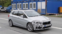 2018 BMW 2 Series Active Tourer facelift spy photos
