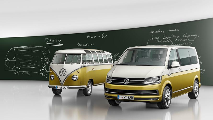 Une version spéciale pour le Multivan en l'hommage au Combi