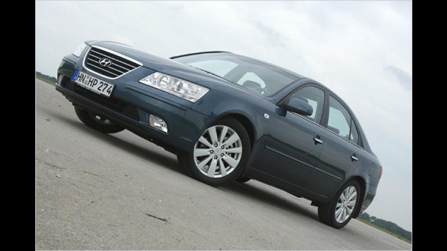 Nur günstig oder mehr? Hyundai Sonata 3.3 V6 im Test