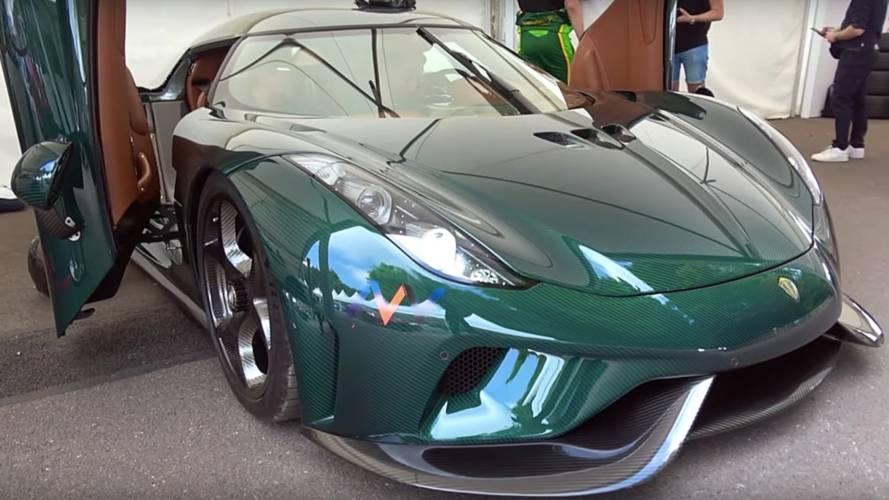 Koenigsegg Regera'ya bu video ile yakından bakın