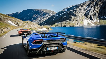 Lamborghini Avventura 2018, sette Tori alla conquista dei fiordi
