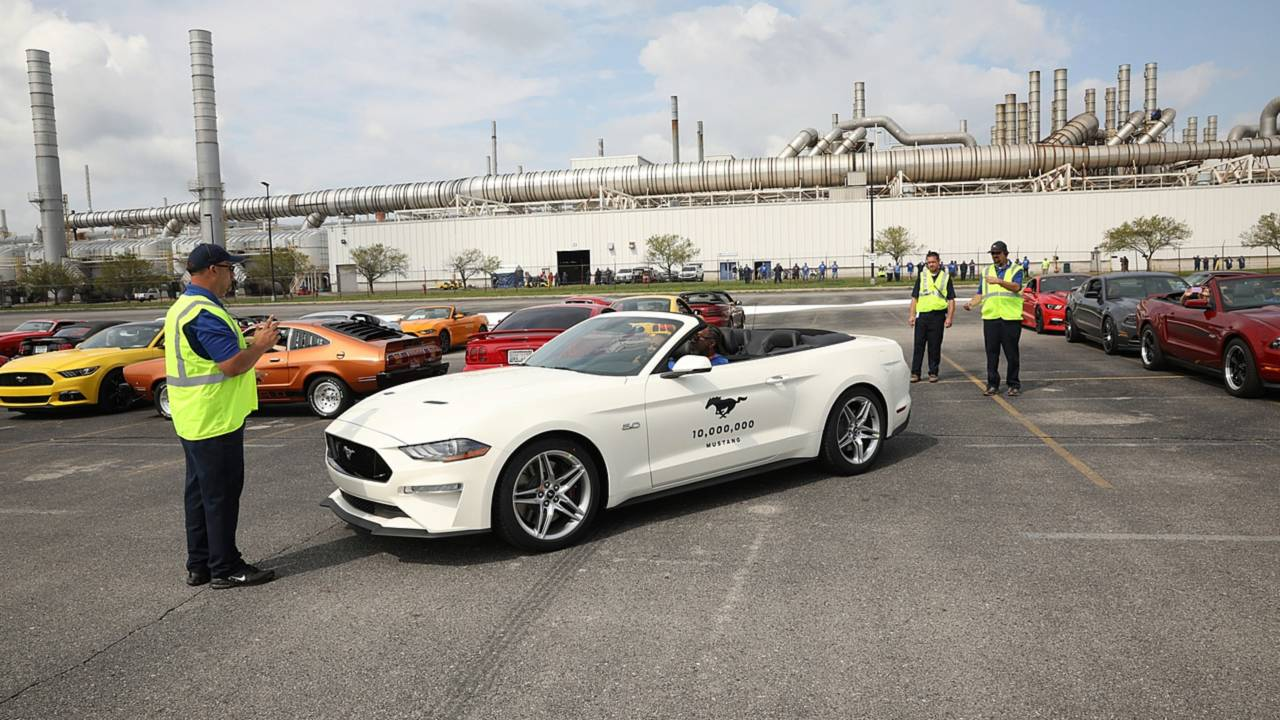 Is Ford S 10 Millionth Mustang Really Number 10 Million