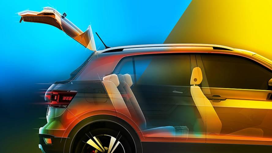 VW T-Cross Rear Cargo Teaser