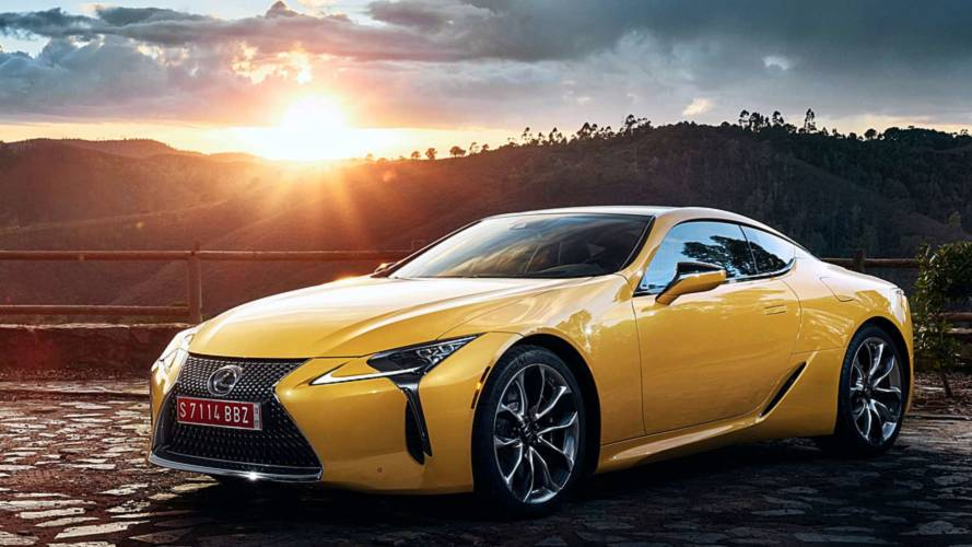 Lexus LC Yellow Edition Shows Off The Coupe's Sunnier Side