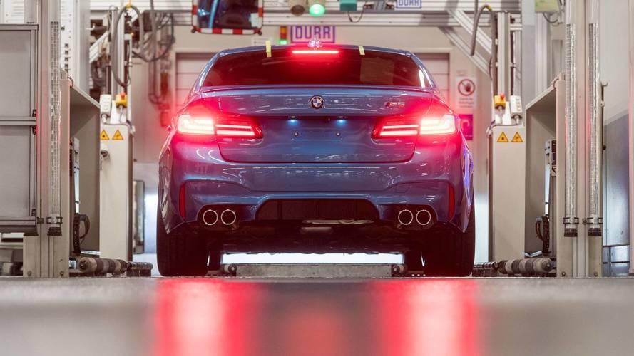 On connaît enfin la puissance de la BMW M5 Pack Competition