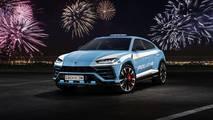 Lamborghini Urus police car render