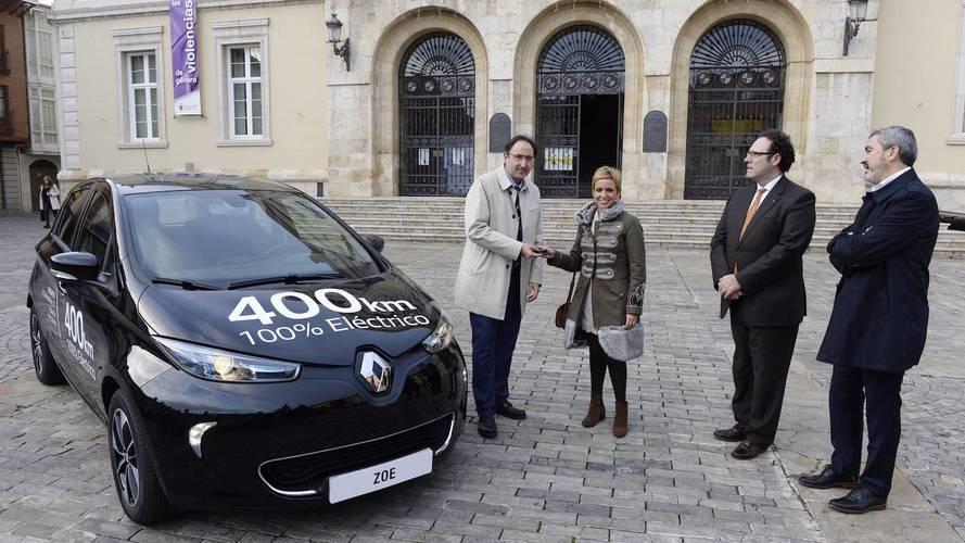 El Ayuntamiento de Palencia ya tiene su Renault ZOE 2018