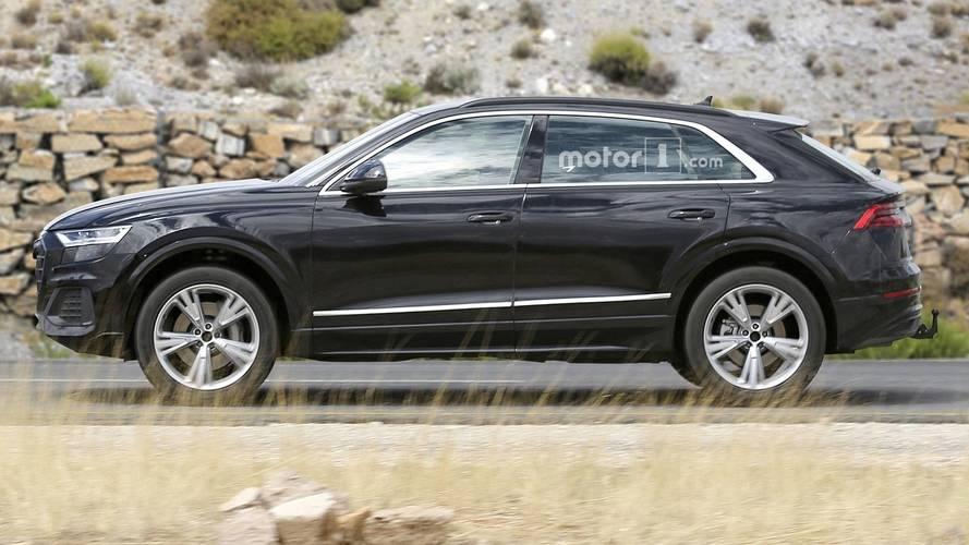 Photos espion - Audi Q8