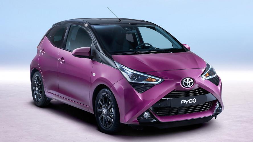 Toyota'nın şehir otomobili Aygo 2018 için makyajlandı