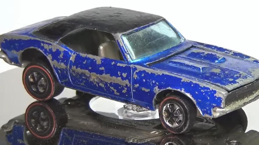 Watch Battered 1968 Camaro Hot Wheels Get Impossible Restoration