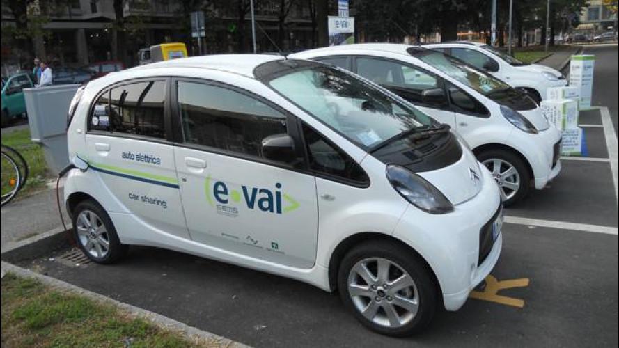 Car sharing, e-vai arriva a Gallarate