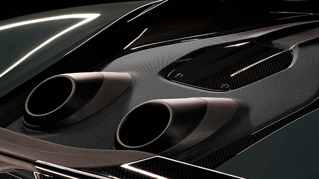 McLaren Top-Exit Exhaust Teaser