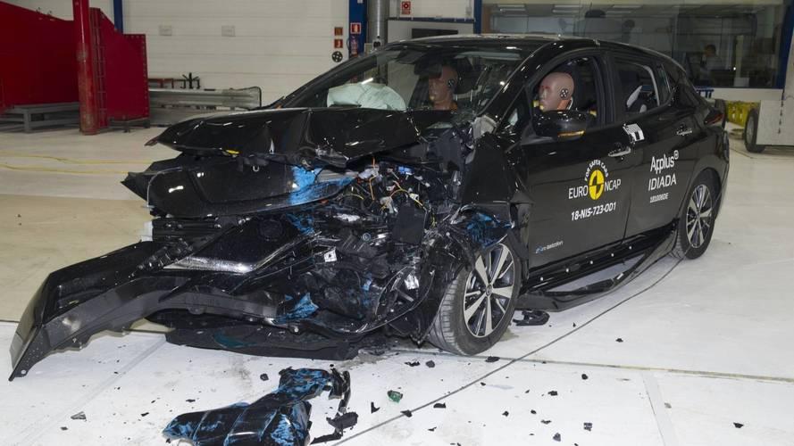 Novo Nissan Leaf alcança 5 estrelas no Euro NCAP sob novo protocolo