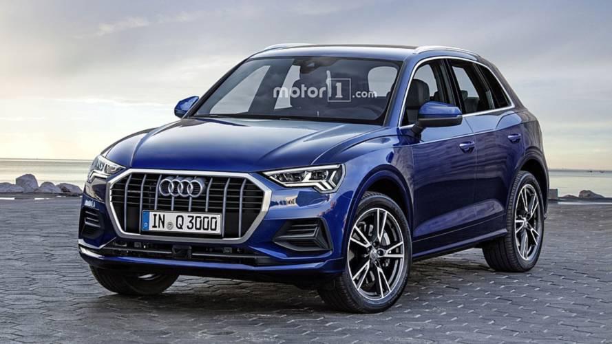 2019 Audi Q3'ün hayali tasarımı hazırlandı