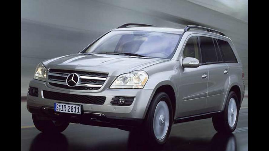 Mercedes-Offroader: GL-Klasse kommt, G-Klasse bleibt